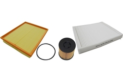 MAPCO 68710 Filtersatz Ölfilter Luftfilter Pollenfilter