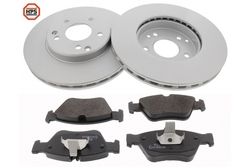 MAPCO 47805HPS brake kit