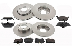 MAPCO 47855/1 brake kit