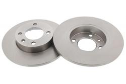 MAPCO 15768/2 Bremsscheiben 2x Bremsscheibe Vorderachse