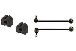 MAPCO 53671/1 Koppelstangen verstärkt HPS 2x Koppelstange + Stabibuchsen vorne