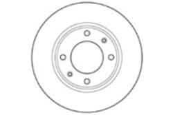 MAPCO 15321 Тормозной диск