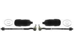MAPCO 53022/1 Spurstange links und rechts, 2 Stück, mit Manschetten und Schellen
