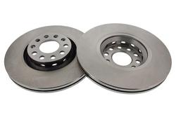 MAPCO 15885/2 Bremsscheiben 2x Bremsscheibe Vorderachse