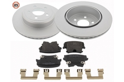 MAPCO 47795HPS brake kit