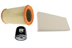 MAPCO 68101 Filtersatz Ölfilter Luftfilter Pollenfilter