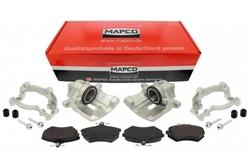 MAPCO 4884/5 Bremssattel + Bremssattelhalter + Bremsbeläge VW Golf Corrado G60 Umbau