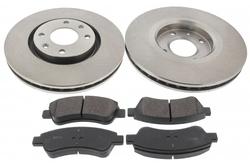 MAPCO 47458 Bremsensatz Bremsscheiben mit Bremsbelägen Vorderachse