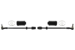 MAPCO 53862/1 Spurstange links und rechts, 2 Stück, mit Manschetten und Schellen
