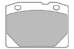 MAPCO 6080 Bremsbeläge (4 Stück)