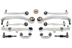 MAPCO 59818HPS SUSPENSION CONTROL ARMS WISHBONES SET KIT FRONT FOR AUDI A4 8E B6 VW PASSAT 3B2