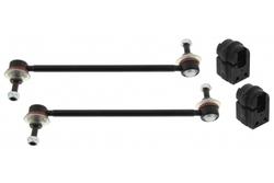 MAPCO 53104 Koppelstangen 2X Koppelstange HPS verstärkt + Stabibuchsen