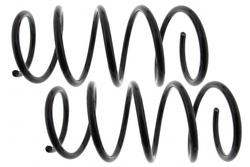 MAPCO 70107/2 Fahrwerksfedern Satz Vorderachse Schraubenfeder