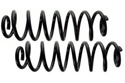 MAPCO 72713/2 Fahrwerksfedern Satz Hinterachse Schraubenfeder