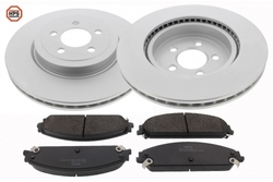 MAPCO 47791HPS brake kit