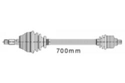 MAPCO 16102 Gelenkwelle