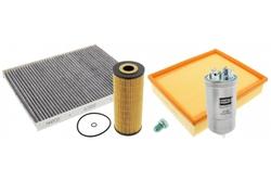 MAPCO 68905 Inspektionspaket Ölfilter Luftfilter Innenraumfilter Kraftstofffilter Ölablaßschraube