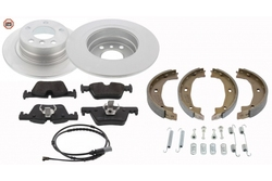 MAPCO 47767/1HPS brake kit