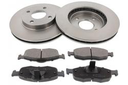 MAPCO 47657 brake kit