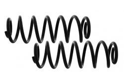 MAPCO 72803/2 Fahrwerksfedern Satz verstärkt Hinterachse