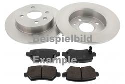 MAPCO 4506/5 Bremsensatz Bremsscheiben mit Bremsbelägen