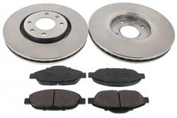 MAPCO 47431 Bremsscheiben mit Bremsbelägen Vorderachse