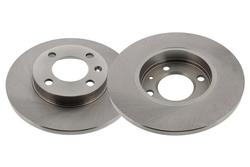 MAPCO 15771/2 Bremsscheiben 2x Bremsscheibe Vorderachse