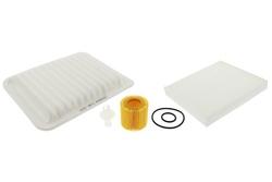 MAPCO 68557 Filtersatz Ölfilter Luftfilter Pollenfilter