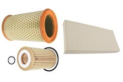 MAPCO 68102 Filtersatz Ölfilter Luftfilter Pollenfilter