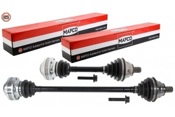 MAPCO 77752HPS Dünne + kurze Antriebswelle links rechts Set für VW Golf 5 / 6 GTI GTD 2.0 TDI
