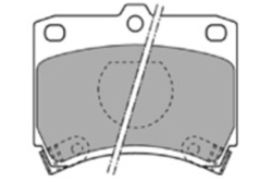 MAPCO 6334 Bremsbeläge (4 Stück)