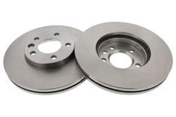 MAPCO 15779/2 Bremsscheiben 2x Bremsscheibe Vorderachse