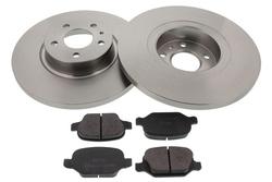 MAPCO 47017 Kit de freins, frein à disques