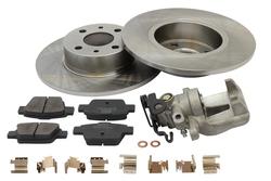 MAPCO 4019/5 Bremsensatz Bremsscheiben mit Bremsbelägen