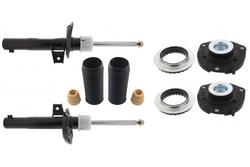 MAPCO 40916 Stoßdämpfer Satz Vorderachse Ø 50 mm  + Domlager + Staubschutz