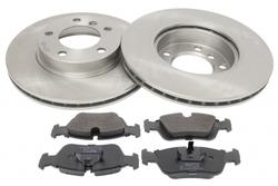 MAPCO 47881 Bremsensatz Bremsscheiben mit Bremsbeläge Vorderachse