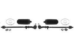 MAPCO 53159/1 Spurstange links und rechts, 2 Stück, mit Manschetten und Schellen