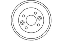 MAPCO 35570 Bremstrommel