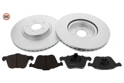 MAPCO 47827HPS brake kit