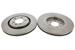 MAPCO 15833/2 Bremsscheiben 2x Bremsscheibe Vorderachse