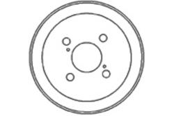 MAPCO 35552 Bremstrommel