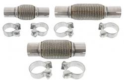 MAPCO 30242/3 Flex Hose, exhaust system