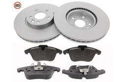 MAPCO 47661HPS brake kit