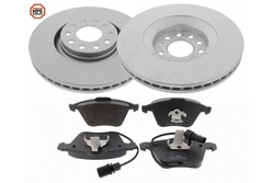 MAPCO 47825HPS brake kit