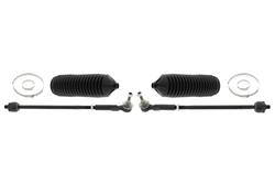 MAPCO 53023/1 Spurstange links und rechts, 2 Stück, mit Manschetten und Schellen