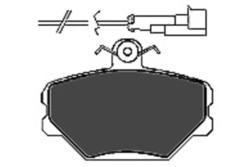MAPCO 6292 Bremsbeläge (4 Stück)