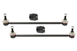 MAPCO 49332 Koppelstangen 2 Stück verstärkt mit Stabibuchsen 20 mm