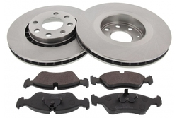 MAPCO 47753 brake kit