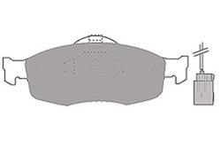 MAPCO 6369 Brake Pad Set, disc brake