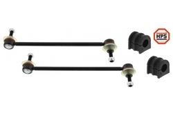 MAPCO 53158HPS 2x Koppelstange verstärkt + Stabibuchsen 21mm vorn